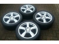 GENUINE 18 MERCEDES CLS W218 AND E CLASS VITO ALLOY WHEELS 8.5J IMMACULATE