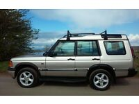 2001 LAND ROVER DISCOVERY 2 TD5 XS GOLD 5 SEATS MANUAL 4X4 SERVISED MOT FEB 2018