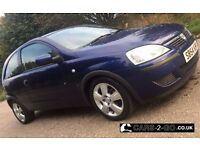 **FULL 1 YEAR MOT** Vauxhall Corsa Energy Twinport 1.0 Petrol Metallic Blue 3 Door