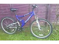"Shockwave xt700 26"" mountain bike ideal uni commuter"
