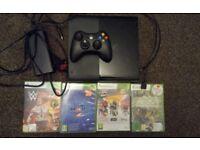 Xbox 360 Elite Console Bundle + 7 Games + 2 Controllers