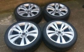 *** BLACK FRIDAY SALE *** GENUINE 18 VW EOS ALLOY WHEELS GOLF MK6 SHARAN PASSAT CADDY VAN VW 5 X 112