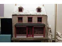 Dolls house/shop project plus loads of accessories