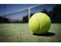 Private tennis lessons for individuals and groups in Edinburgh