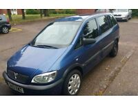V ZAFIRA 1.6 PETROL 7 SEATS IDEAL FAMILY CAR 11 MONTHS MOT READY TO GO CHEAP.