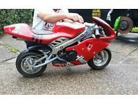 Ducati rep mini moto 49cc