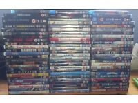 Dvd and blu ray bundle. Joblot. Wholesale. Horror, comedy, action. - ONO