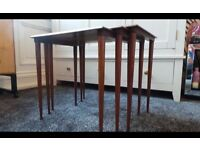 Danish Teak Nest Of three tables,can deliver 07448733546