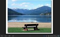 You can rent this RV in the Okanagan at the hottest lake in Can