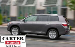 2012 Toyota Highlander Hybrid ! AWD + LEATHER + 7 SEATS + NO ACC