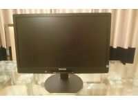 """Philips 221B3LPCB 22"""" Philips Brilliance Widescreen LED Monitor"""