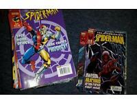 Astonishing Spiderman comics