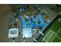 Skylander sets with games portals traps and skylander figures