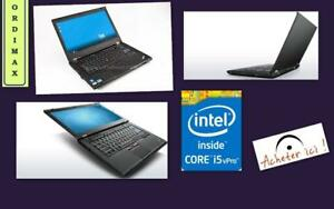 "Laptop Lenovo THINKPAD T420S / Intel Core  i5 /14"" / 4 Gb  Memoire  / 250 Gb Disque  Dur  / Graveur /Laptop Ultramince"