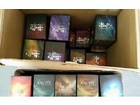 Buffy and Angel vhs boxsets complete collections