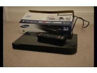 Samsung BD-F5500 Bluray Player with Remote