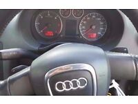 Audi A3, Black colour, 2006 year, quick sale, Breaking and selling for parts