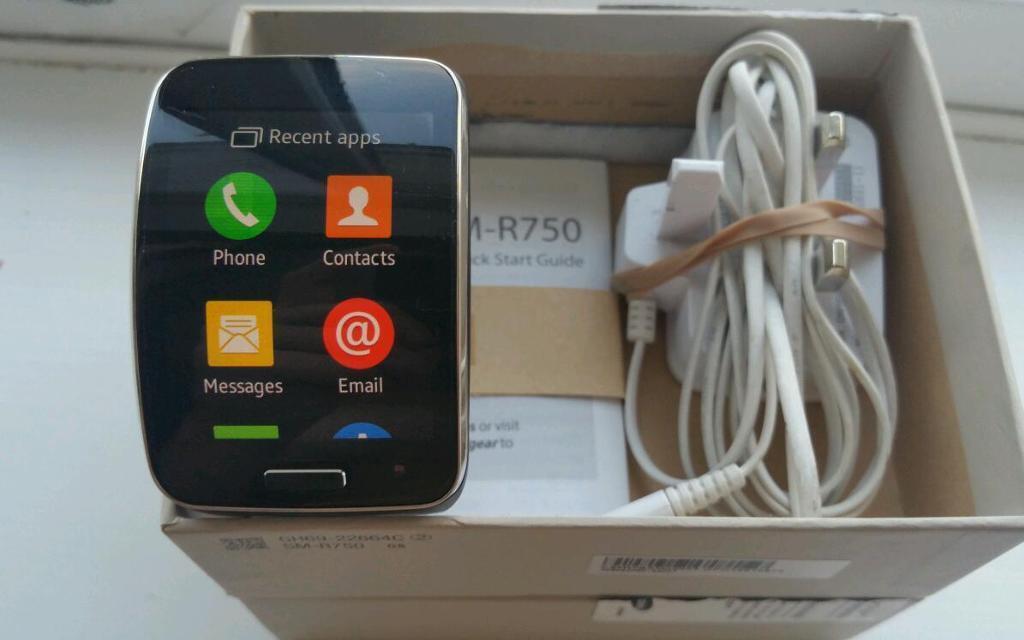 Samsung Galaxy Gear S SM-R750 smartWatch- UNLOCKED (works ...