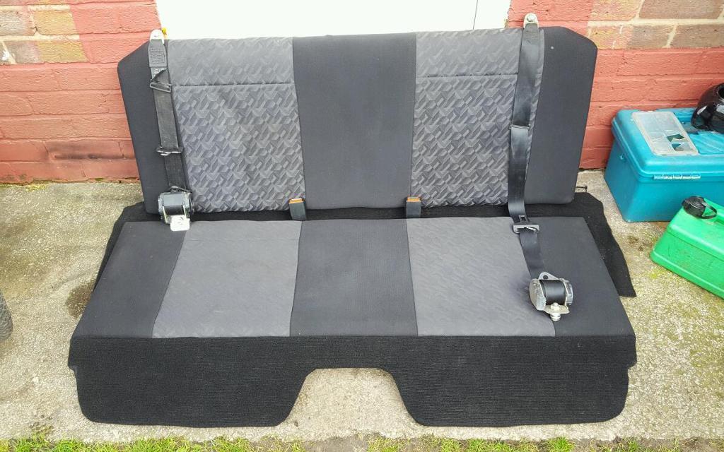 Replacement Van Seats : Vauxhall astra van mk rear seat conversion in sale