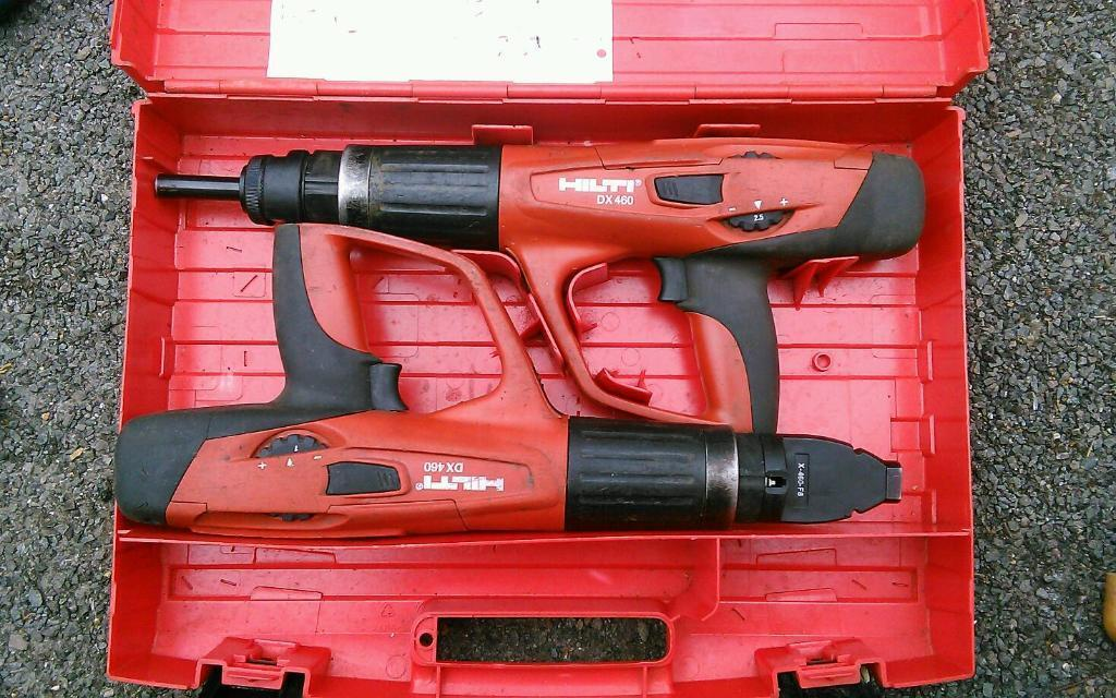 Two Hilti Dx 460 Nail Guns F8magazine In Hayes London