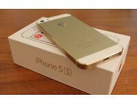 Iphone 5S Gold 16 GB unlocked
