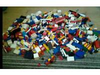 Vintage lego and leaflets job lot loft find
