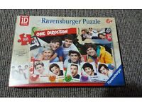 ONE DIRECTION 1D 80 Piece Puzzle - Brand NEW, sealed Ravensburger Fun Gift