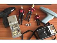 Bundle of Star Trek figures and toys