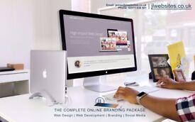 PROFESSIONAL FREELANCE WEB DESIGN based near Camden - Full online branding packages - Web developer