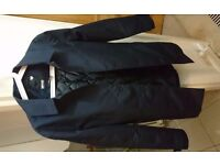 Men's Minimum Dark Blue Coat Size Small (Danish style)