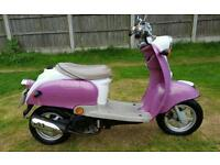 50cc qt50 moped. Needs mot and tlc see notes. Can deliver if needed