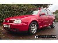 Volkswagen VW Golf 2.0 GTi 3 Door Metallic Red
