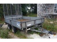 Ifor Williams 10ft x 6ft 3500kg trailer with rear ramp