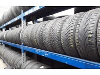 Part worn tyres / winter tyres / sets & pairs available / london barking / 07961201205