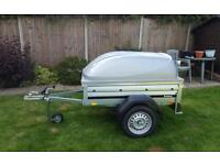 Brenderup 1150s Car trailer +lockable Abs lid