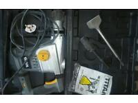 SDS max rotary hammer drill + SDS plus convertor chuck