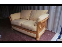 In Good clean condition,sofa is 175 cm wide 110 cm deep 100 cm high