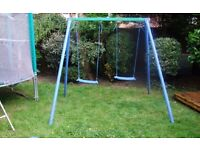 Double childrens swing