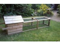 Broody chicken coop for sale. Excellent condition.