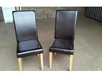 Pair of Black Armchair