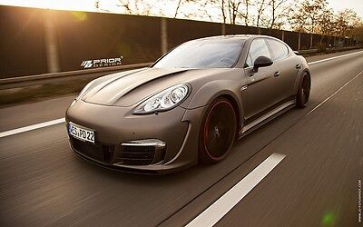 PORSCHE PANAMERA 970 WIDE BODY KIT FRONT/REAR BUMPER HOOD FLARES TURBO S SPOILER
