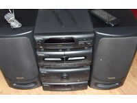 TECHNICS STEREO STACK HI-FI SYSTEM in VGC (CH-404/CH-505)