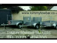 New galvanised trailers for sale Tommy Towbar
