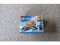 Brand New Sealed Lego City Arctic Ice Glider Snow Mobile Snowmobile Exploration Skid Ski 60190