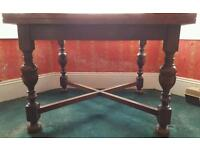 Oak Victorian Dining Table