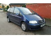 2005 VW SHARAN 1.9 TDI 130 PD SPARES OR REPAIRS DIESEL ALHAMBRA STARTS AND DRIVE