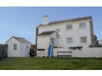 Large Cornish House, sleeps 9 in 5 beds in St. Ives Bay - September availability