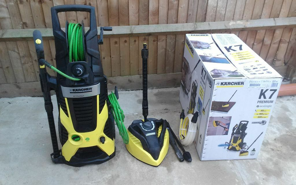 karcher k7 premium ecologic pressure washer 160 bar 100 complete top karcher model in. Black Bedroom Furniture Sets. Home Design Ideas