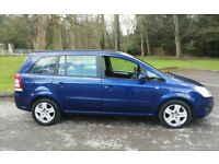 LOVELY 2008 VAUXHALL ZAFIRA 1.8 EXCLUSIVE 7 SEATER 1 YEARS MOT FULL SERVICE HISTORY VERY ECONOMICAL