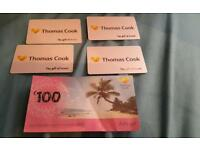 £300 worth of thomas cook vouchers
